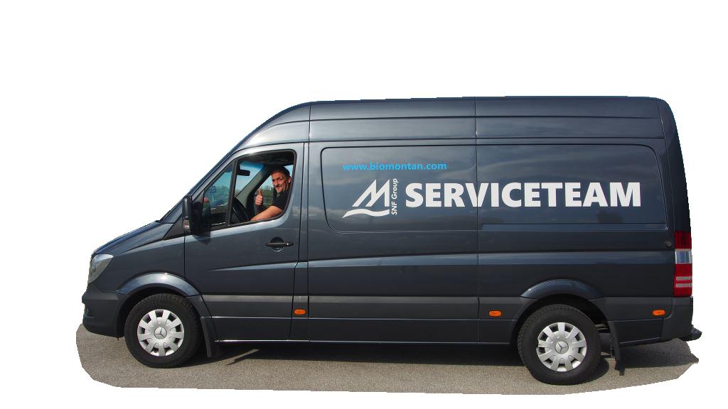 Biomontan GmbH Servicebus